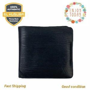Louis Vuitton Wallet Portefeuille Marco EPI BLACK